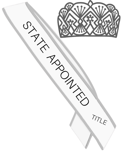 STATE APPOINTED TITLE (all divisions)