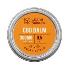 Lazarus Naturals Cedar Citrus CBD Balm