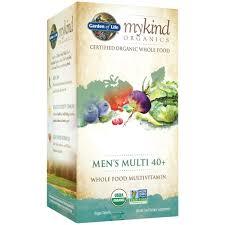 Garden of Life mykind Org Men's 40 Multi