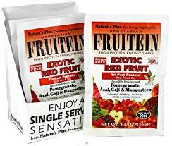 Nature's Plus Fruitein Exotic Red Fruit