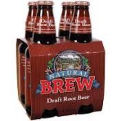 Natural Brew Root Beer 4 Pack