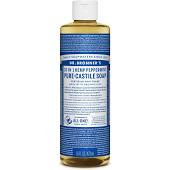 Dr Bronner Peppermint Pure-Castile Soap (16oz)