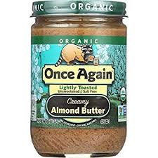 Once Again Organic Creamy Almond Butter
