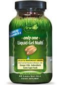 Irwin Naturals Only One Liquid Gel Multi No Iron