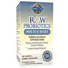 Garden of Life RAW Probiotic Men 50+