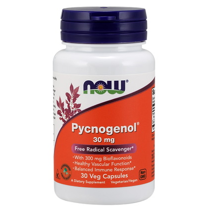 Now Foods Pycnogenol 30 mg