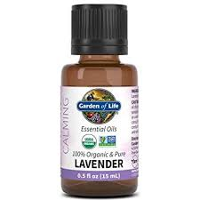 Garden of Life Org Lavender Essential Oil .5 oz