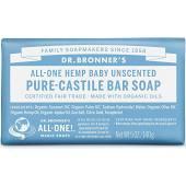 Dr. Bronner Unscented Baby Mild Bar Soap