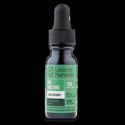 Lazarus Naturals Chocolate Mint 750 mg CBD