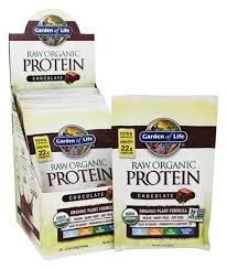 Garden of Life Raw Org Protein Packet Choc