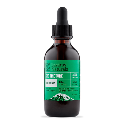 Lazarus Naturals High Potency CBD Tincture 3000 mg