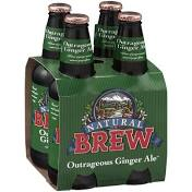 Natural Brew Ginger Ale 4 Pack