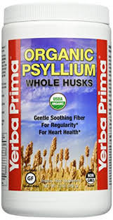 Yerba Prima Organic Whole Psyllium Husks