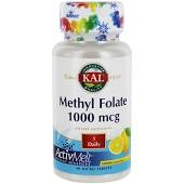 KAL Methyl Folate 1000 mcg ActivMelt