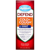 Hyland Defend Cough + Cold Night Syrup