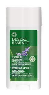 Desert Essence Tea Tree Lavender Deodorant Stick