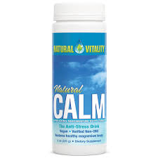 Natural Vitality Unflavored Natural Calm Magnesium