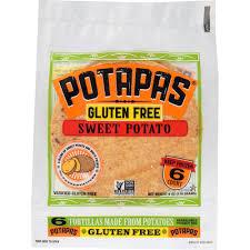 Potapas Gluten Free Sweet Potato Tortillas