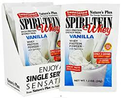 Nature's Plus Spiru-Tein Whey Vanilla Packet