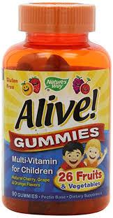 Nature's Way Alive Gummies Multi-Vitamin for Kids