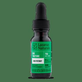 Lazarus Naturals High Potency CBD Tincture 750 mg