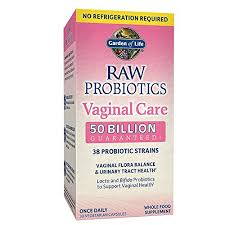 Garden of Life Vaginal Care RAW Probiotics (Self Stable)