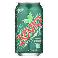 Zevia Zero Calorie Ginger Ale Soda