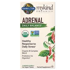 Garden of Life mykind Organics Adrenal Daily Balance
