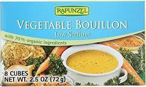 Rapunzel Low Sodium Vegetable Bouillon Cubes