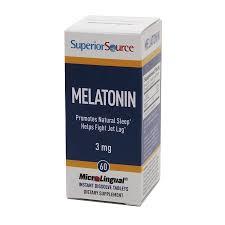 Superior Source MicroLingual Melatonin 3 mg