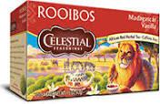 Celestial Seasonings Madagascar Vanilla Rooibos Tea