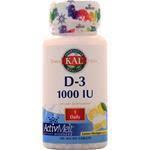 KAL D-3 1000 IU ActivMelt