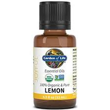Garden of Life Organic Lemon Essential Oil