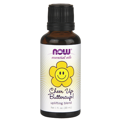 Now Foods Cheer Up Butter Cup Essential Oil Blend