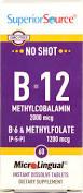 Superior Source Microlingual Methyl B-12, B-6 & Methylfolate