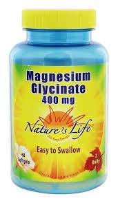 Nature's Life Magnesium Glycinate 400 mg
