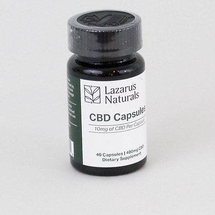 Lazarus Naturals CBD Supplement 10 mg (40 Cap)