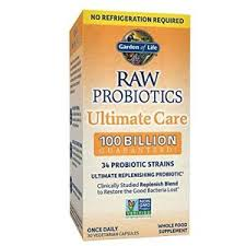 Garden of Life Ultimate Care RAW Probiotics (Shelf Stable)