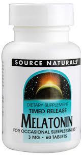 Source Naturals Timed Release Melatonin 3 mg