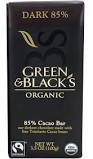 Green & Black Organic 85% Dark Chocolate Bar