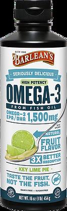 Barlean's Key Lime Omega Swirl Fish Oil