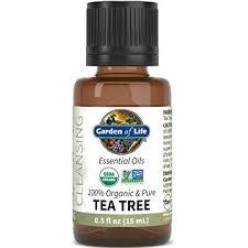 Garden of Life Org Tea Tree Essential Oil