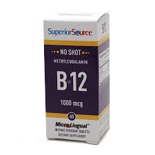 Superior Source No Shot Microlingual Methyl B-12 1000 mcg