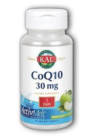 KAL CoQ10 ActivMelt Lozenges 30 mg
