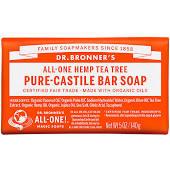 Dr. Bronner Tea Tree Bar Soap