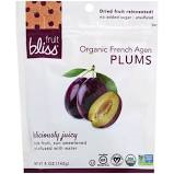Fruit Bliss Organic French Plums