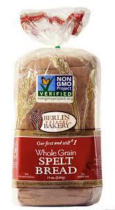 Berlin Natural Bakery Whole Grain Spelt Bread