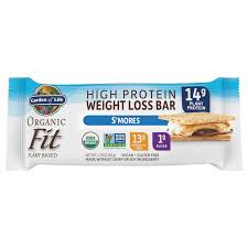 Garden of Life Org Fit Weight Loss Smores Bar