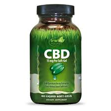 Irwin Naturals 15 mg CBD Softgels