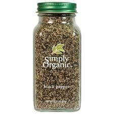 Simply Organic Black Pepper